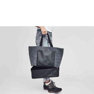 DSW Bags - Gray Felt Tote